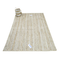 Floor Carpets Modern Area Rugs For Living Room Handmade Accent Jute Braided Rugs
