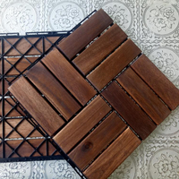 The Best quality wooden flooring/wood deck tiles plastic base Made in Vietnam