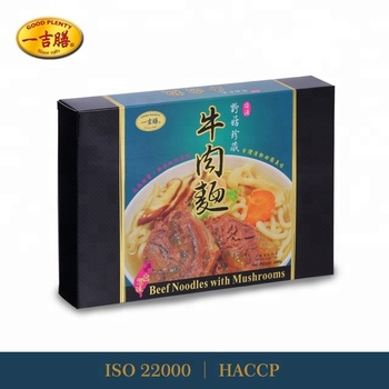 Stewed Beef Noodles with Mushrooms (600g)