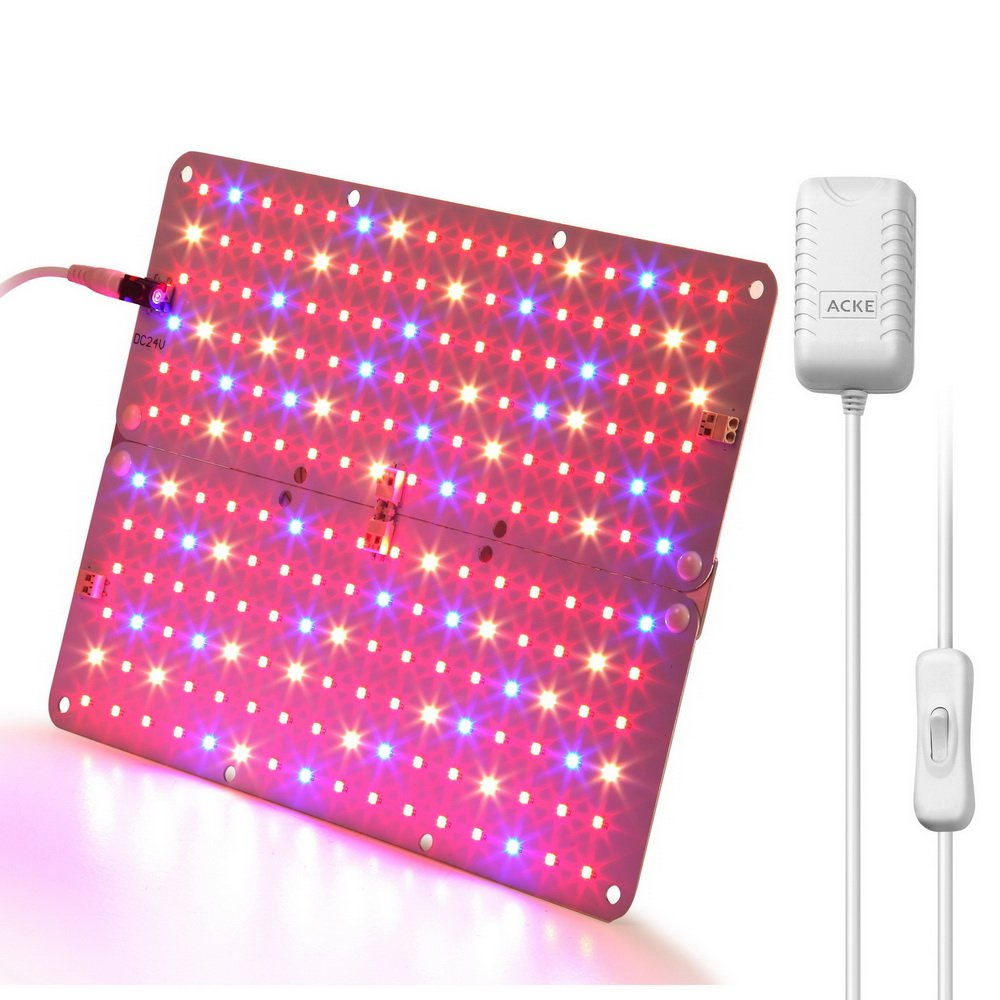 ACKE LED Panel Grow Light, Plant Light PCBA, Hydroponic Grow Light,LED Grow Light Aluminum Board for Greenhouse,Grow Light Stand, Vegetative Growth of Seedling, Flowers, Herbs