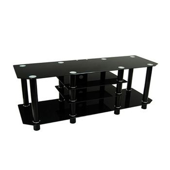 2015 Black Glass Entertainment TV And Media Cabinets YJ003
