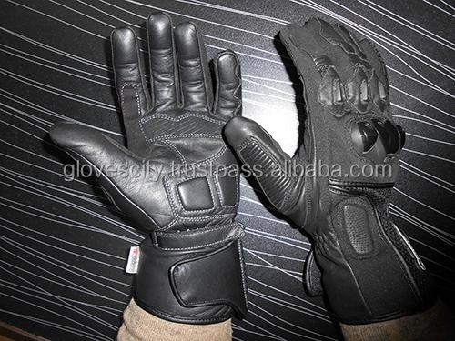 Gli uomini DELL'UNITÀ di ELABORAZIONE di Moto Guanti In Pelle/Nuovo Corse di Motocross guanti Pro-Biker Moto Bike Ciclismo Guanti Pieni della Barretta M /L/X