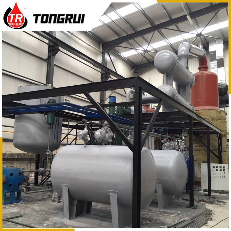 Tongrui vacuum insulation oil purification plant transformer oil processing machine