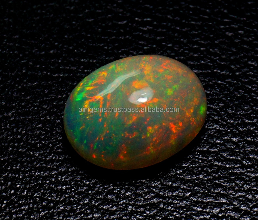 AAA Grade Opal Gemstones 11x9x5 mm Calibrated Ethiopian Opal Cabochon