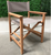 Factory high quality wooden director chair, folding director chair, canvas director chair