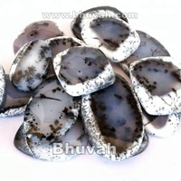 manufacturer for making natural dendritic opal stone bead