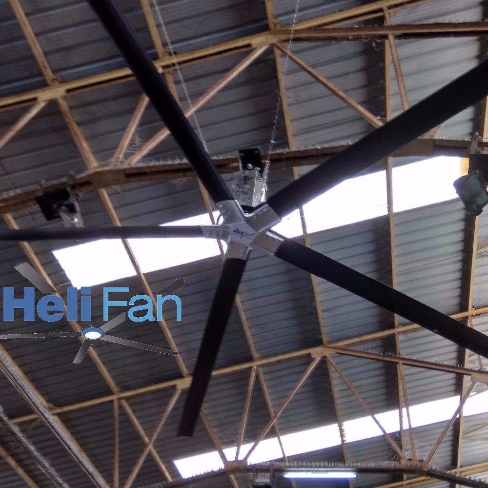 Best On Hvls Fan 12 Ft 16 20 24 Large Industrial Ceiling High Volume Low Sd Big