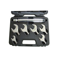 7pcs combination changeable torque spanner wrench