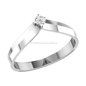 14kt White Gold Best Selling New Design Couple Ring Band For Men
