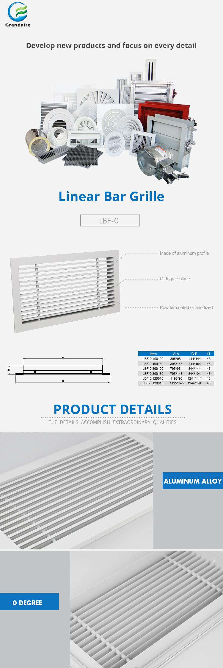 Diffusori Lineari Aria Condizionata aria condizionata griglie diffusori lineari( lgb) - buy griglia aria,aria  condizionata griglia,diffusore griglia product on alibaba