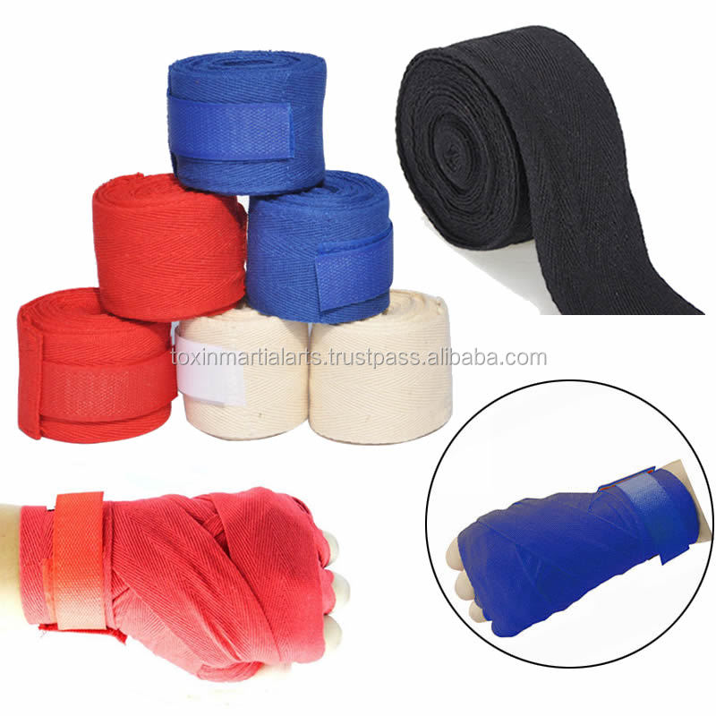 colorful training hand wraps printing boxing hand wraps for kick boxing
