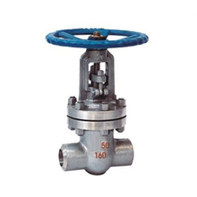Manual operated forged steel butt welded gate valve