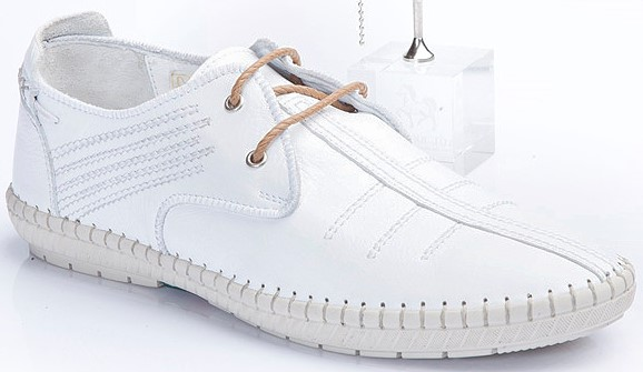 Paul 83133 Shoes Leather Istanbul M Sneakers Turkey Man Branco Casual FfwqYA