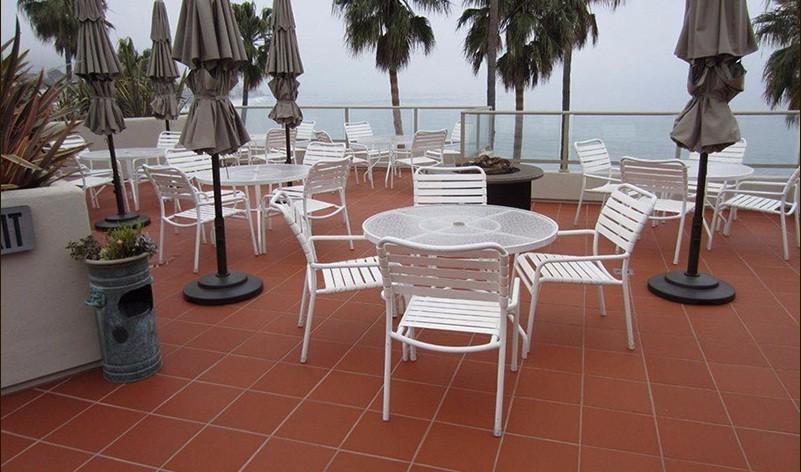 Wholesale Terracotta Tile Floor Non Slip Restaurant Floor Tile Red