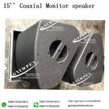 Active 2-way coaxial enclosure ultimate stage monitor LA- X15 hiq