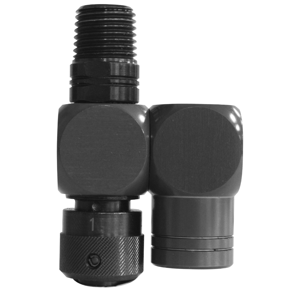 Pa-3315 swivel 1/4 inch luchtslang connector