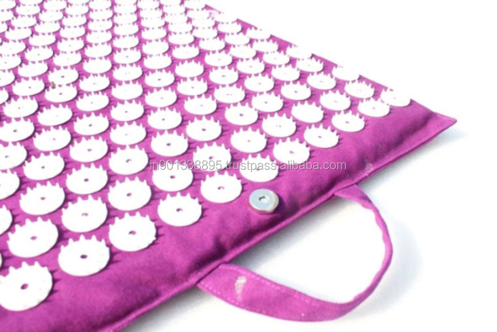 Design yoga Nail mats ABS Virgin Plastic Spike used fix without glue