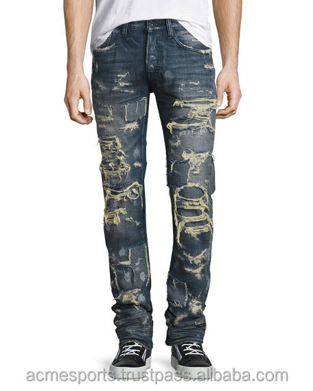 distressed denim Jeans pants - men Shorts Jeans Pants Summer Denim Short Jeans