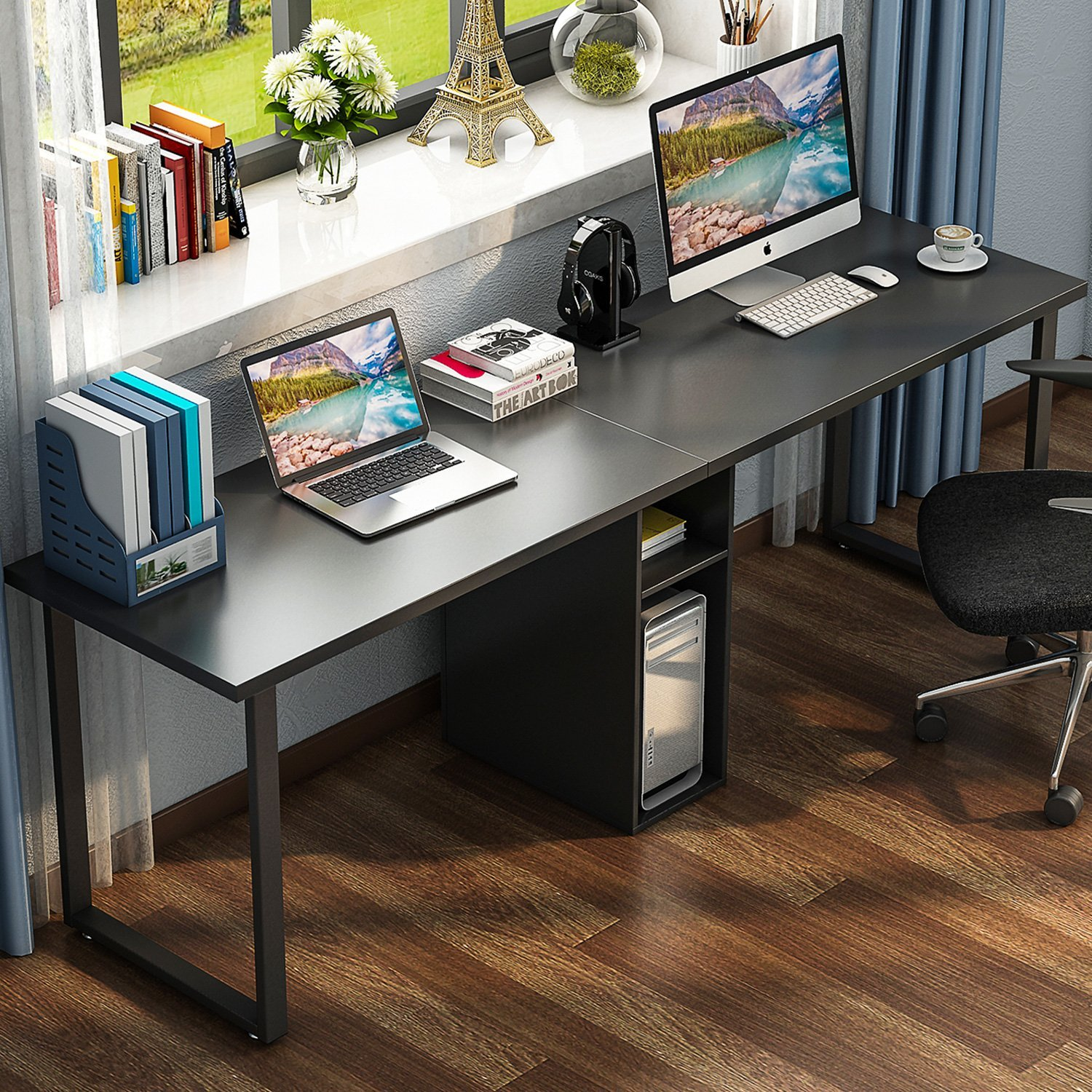 Remarkable Cheap 2 Person Office Desk Find 2 Person Office Desk Deals Home Interior And Landscaping Elinuenasavecom