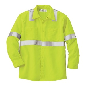 Uniform Reflective Jacket Safety work wear long Sleeve Unisex jackets