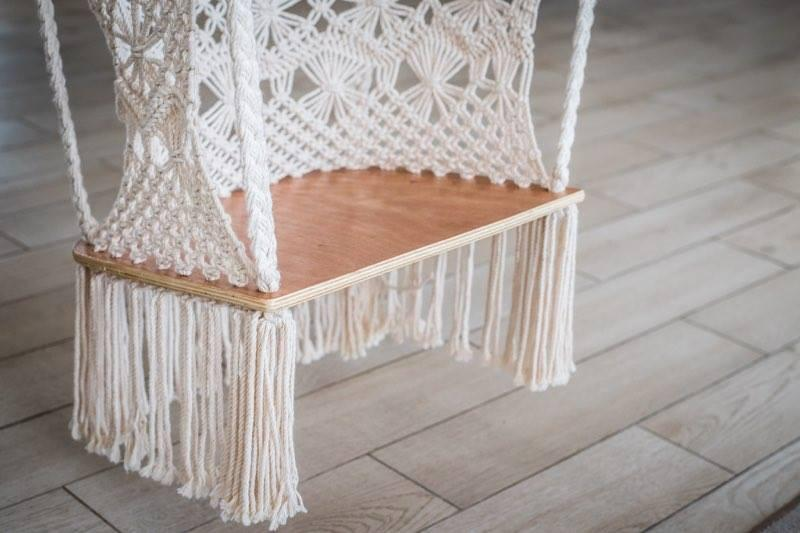 a white best chairs hang wicker indoor bedroom ceiling from hammock hanging with chair bedrooms macrame stand ever swing single for