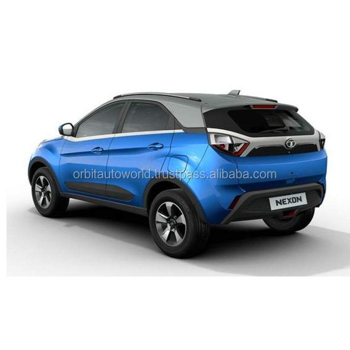 NEW BLUE HATCHBACK CAR