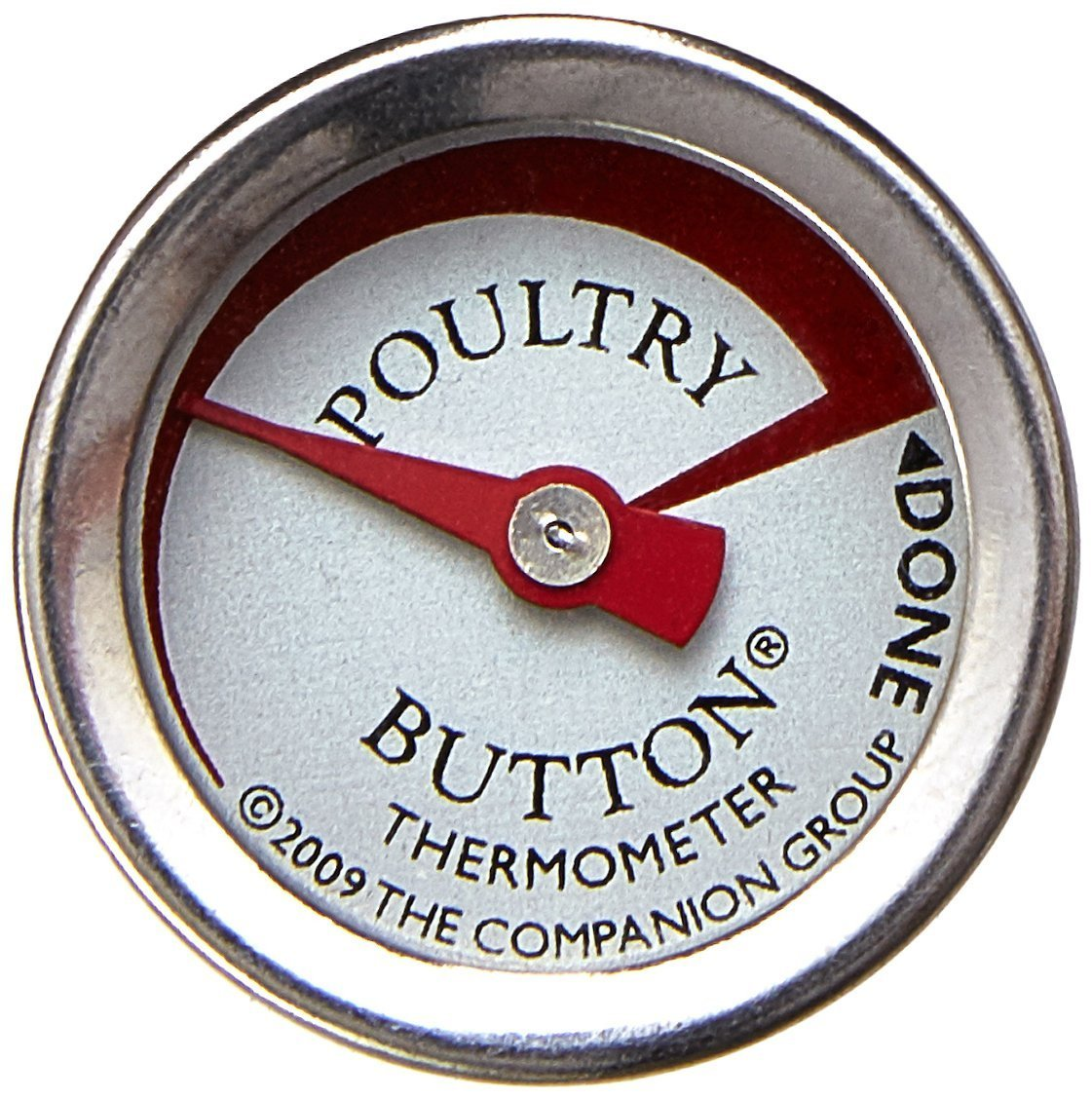 Charcoal Companion Reusable Poultry Button Thermometer