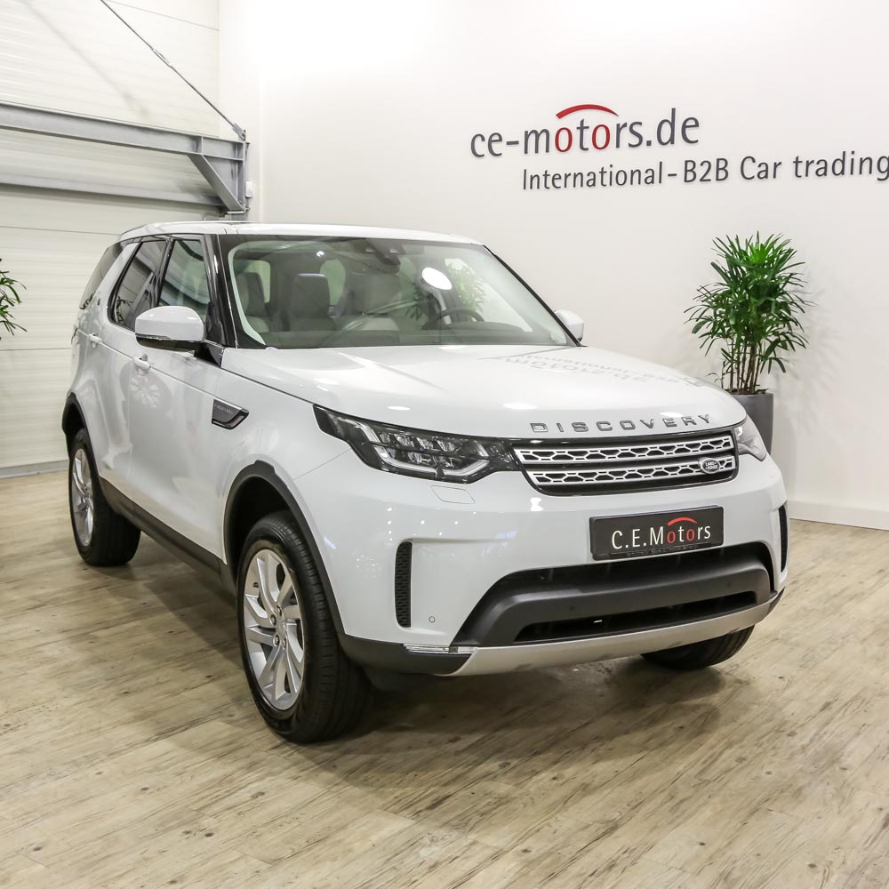 2017 New Car SUV Land Rover DISCOVERY 5 HSE 3.0 Sovralimentato A Benzina Fuji Bianco N1167