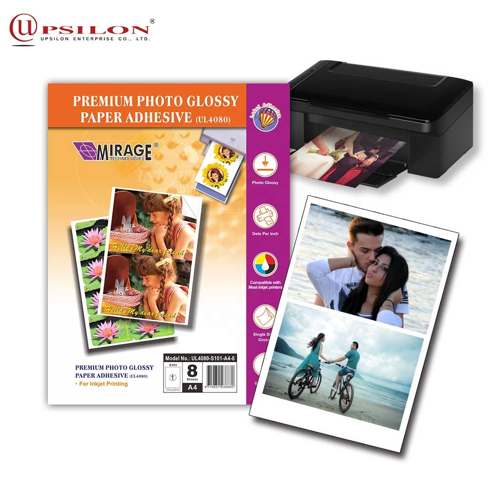 Inkjet Printing Glossy A4 Sticker Paper For Personal Design - Buy Sticker  Paper,A4 Sticker Paper,Glossy A4 Sticker Paper Product on Alibaba com