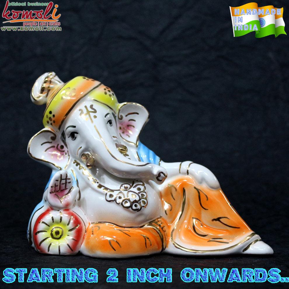 Ceramic Ganesha Wedding Favor Gift Lord Statue