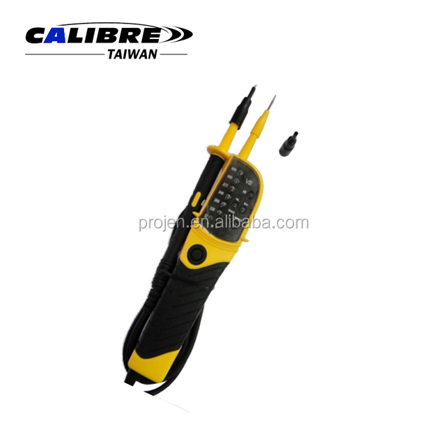 CALIBRE 12 ~ 690V Multifunction Voltage Tester With LED Display Multi-function Voltage and Continuity Testers