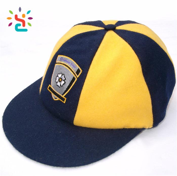 Custom Design Cricket Baggy Green cap Custom design embroidery plain hats  and cricket caps men 805ea9f32d5
