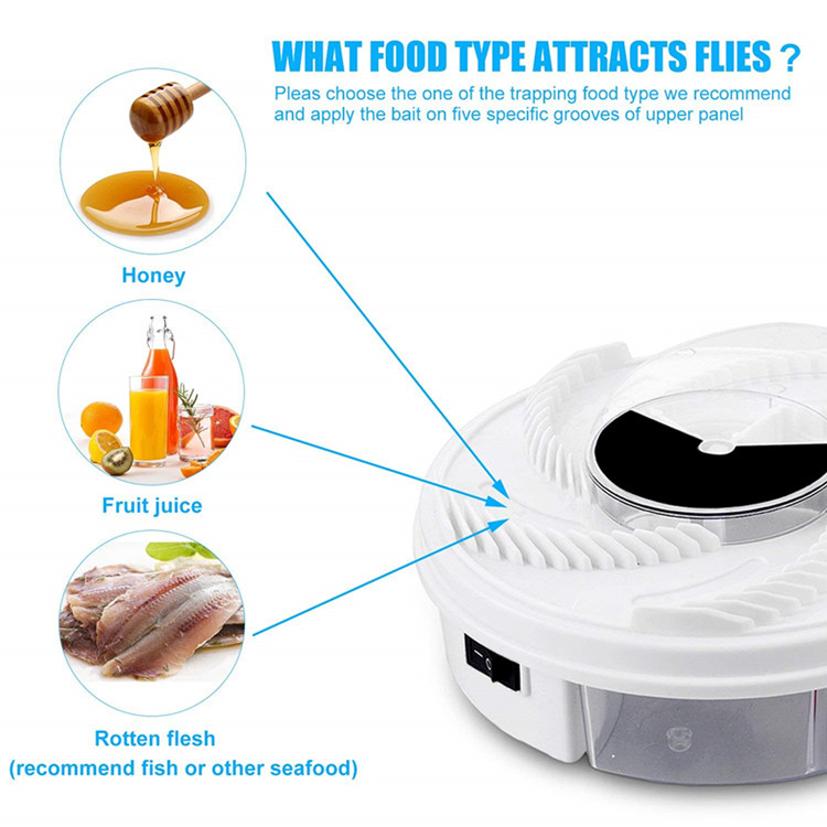 Electric Fly Trap Device,USB Powered Fly Catcher , Fly Insect Killer for Indoor and Outdoor Use