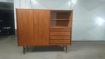 Highboard Sideboard Vintage Retro 60s Made In Denmark Buy