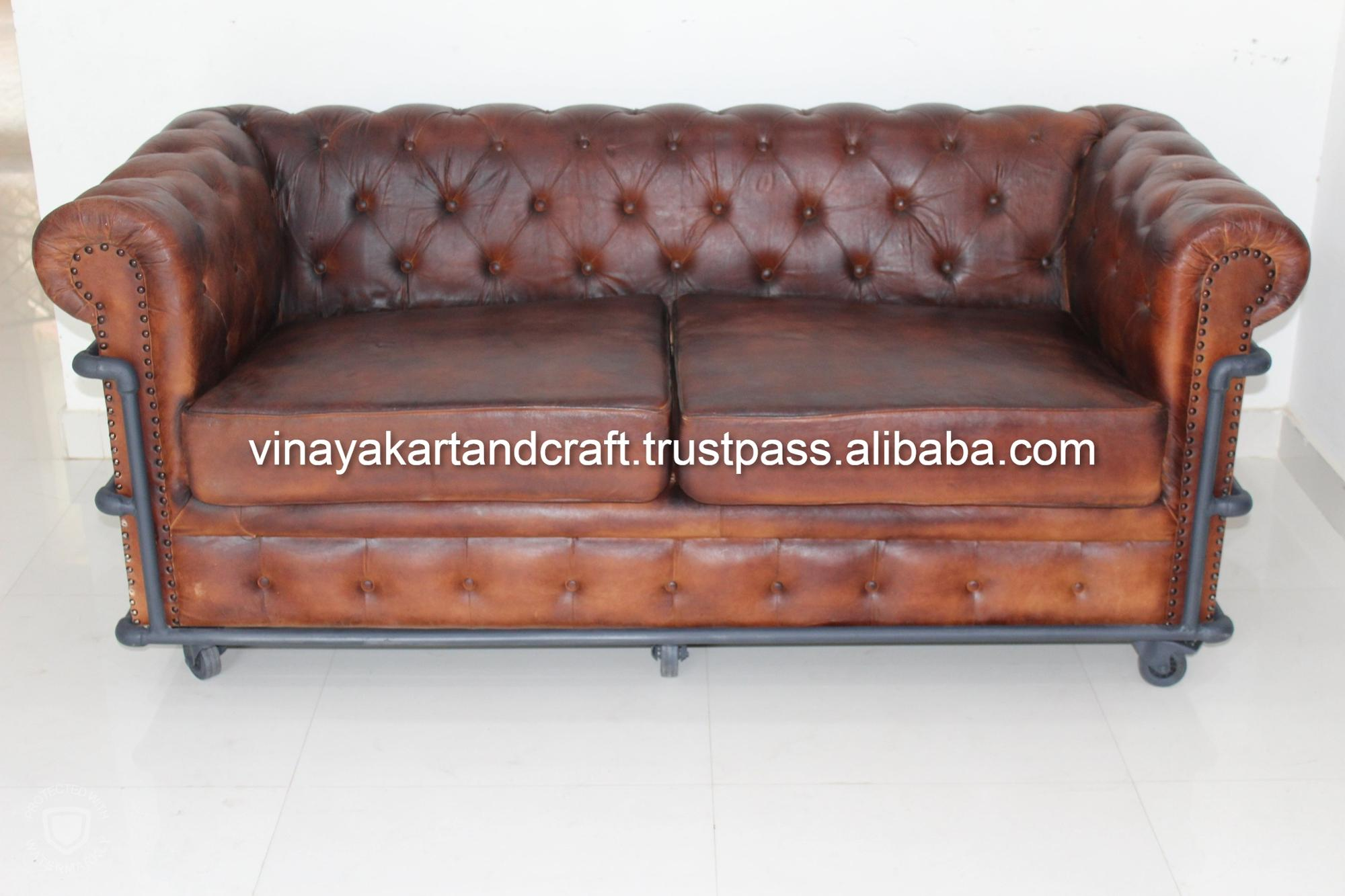 Vintage Leather Sofa Jodhpur