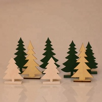 Wooden Lovely Christmas Trees, House and Office Decoration, Factory Price Hot Sales