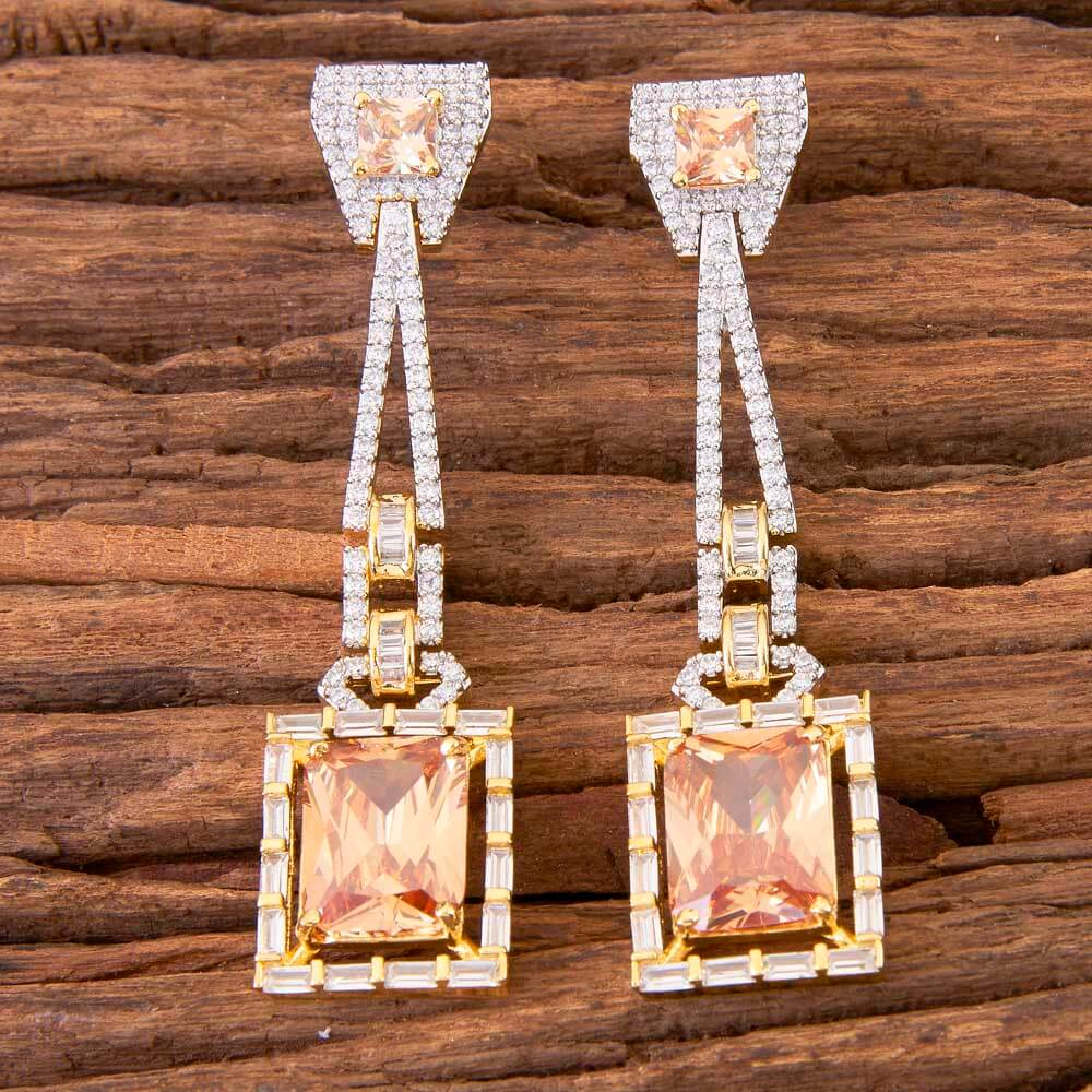 2 Tone Plated Classic Earring In Wholesale Jewelry 58462 lct