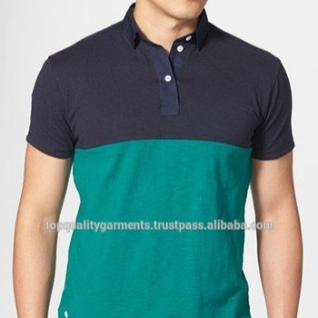 c604c5a0e Two colors Polo T-Shirt Tee Slim Fit Cotton Boys Mens Tee Fashionable New  Design