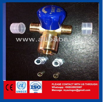 AUTOGAS CNG TANK VALVES MANUAL TYPE
