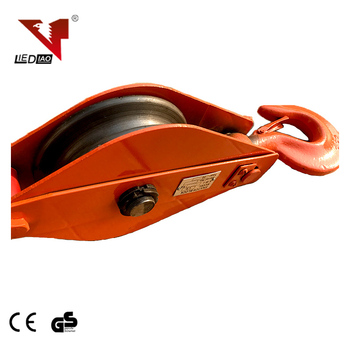 Heavy Duty Single Wheel Wire Rope Sheave Snatch Lifting Pulley Block With  Hook - Buy Sheave Snatch,Single Wheel Wire Rope Pulley Block,Lifting Pulley