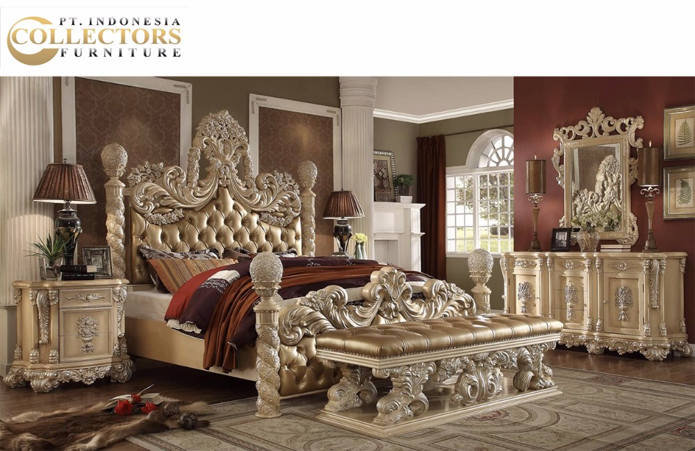 Luxury Classic Royal Carved King Size Bed Set - Bedroom Furniture - Buy  Royal King Size Bed,Antique Bedroom Furniture Set,Classic Italian  Provincial ...