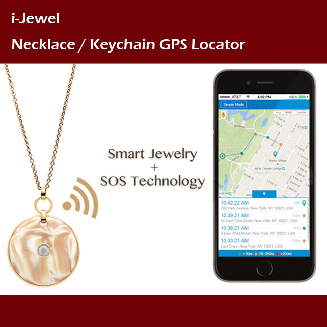 International Certified Elderly Wearable Personal Alarm Sos Necklace - Buy  Taiwan Gps Tracking Jewelry,Gps Tracker Necklace Panic Sos Button,Gps Elder