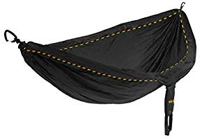 ENO Eagles Nest Outfitters - DoubleNest Hammock, Portable Hammock for Two, Rasta Limited Edition