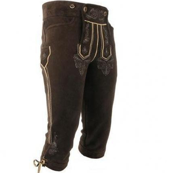 Online Discounter Kniebund Lederhose Regular Fit