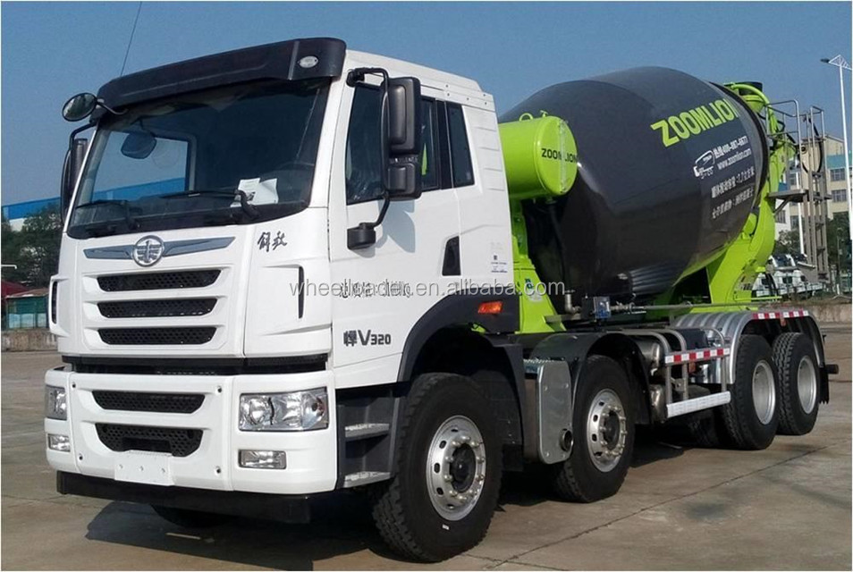 ZOOMLION 12JBB 12m3 Concrete Mixer Truck for Sale