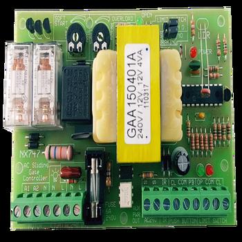 Autogate Mainboard - Ac Sliding Control Panel Nx 747 - Buy Sliding Gate  Control Board,Control Board For Automatic Gate,Sliding Gate Operator Board