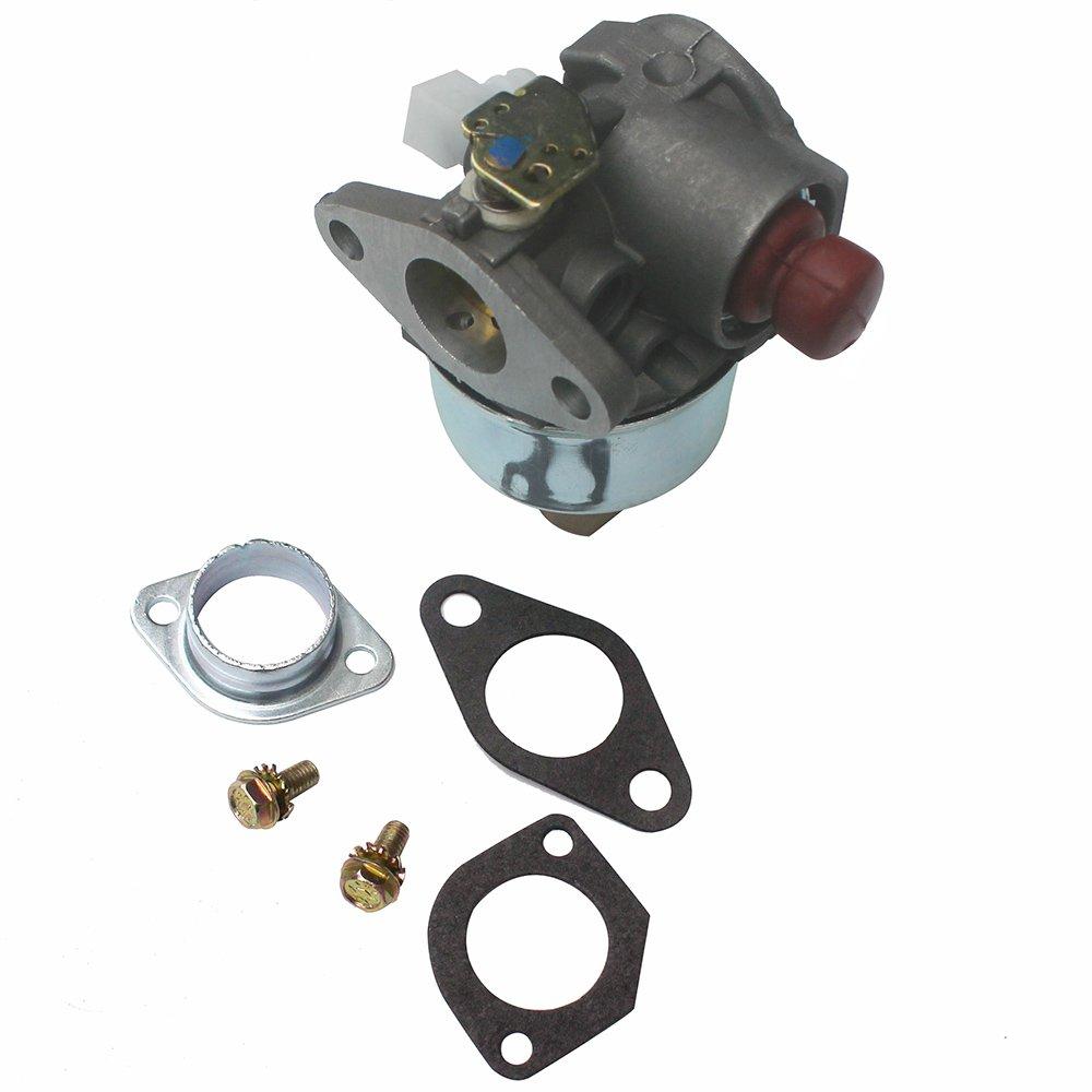 KIPA Carburetor For Tecumseh 632795 632795A 633014 TVS90 TVS100 ECV100 TVS120 TVS105 TVS115 TVXL115 TVXL90 TNT120 LAV35 TVXL115 TVS75 TVXL105 LAV30 LAV50 LAV40 Engine Carb Replace MFG # 226 339 386