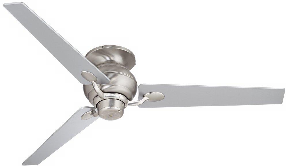 "60"" Spyder Hugger Steel and Silver Taper Blades Ceiling Fan"