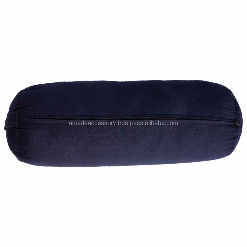 made of 100% cotton fabric with multi-color options Comfortable Yoga Bolster