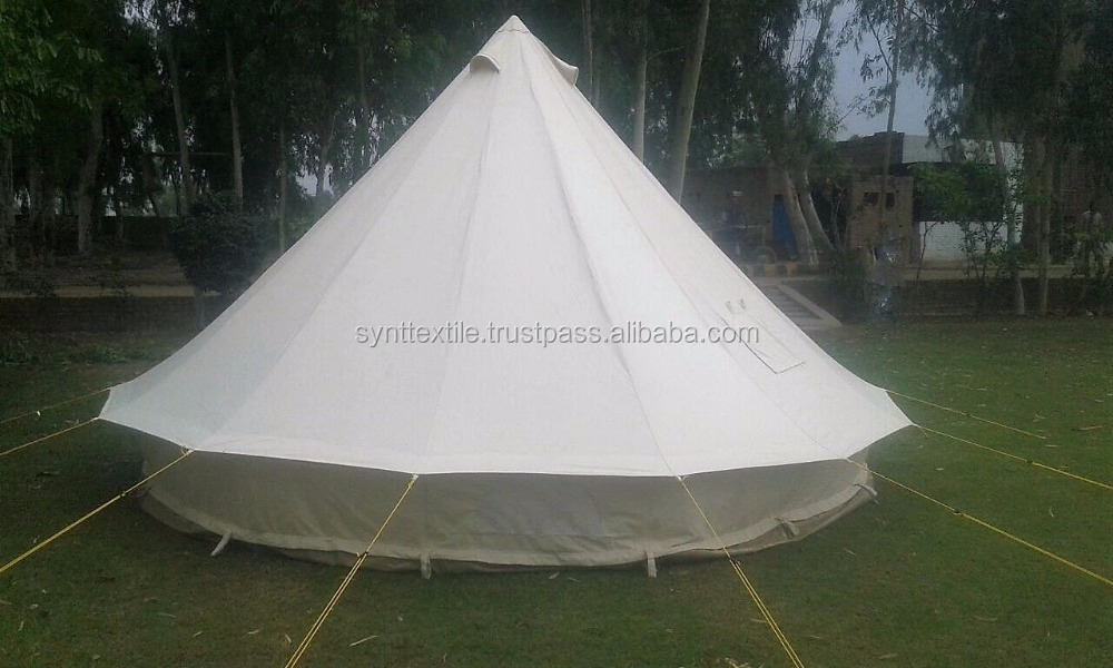 Gl&ing Bell Tent Canvas Tent Roman Tent Canvas Safari Tent & Glamping Bell Tent Canvas Tent Roman Tent Canvas Safari Tent ...